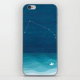 Aries zodiac constellation iPhone Skin