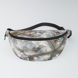 Starfish and Seashells by Barbara Chichester Paintographer Fanny Pack
