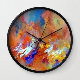 Fire & Ice Wall Clock