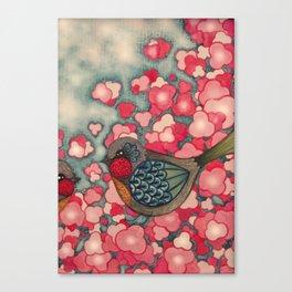 Blossom Birds Canvas Print