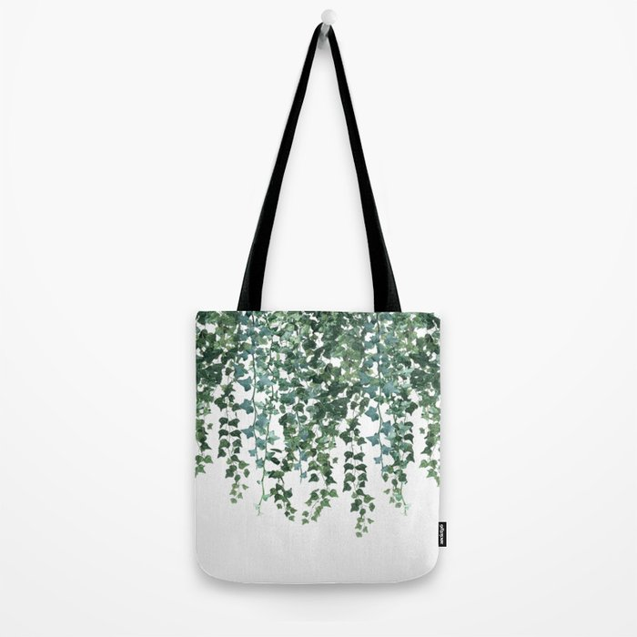 Ivy Vine Drop Tote Bag