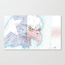 Lone star eagle Canvas Print