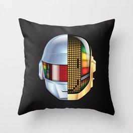 Daft Punk - Discovery Throw Pillow