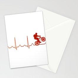 Mountainbike HeartbeatMountainbike Heartbeat Stationery Cards
