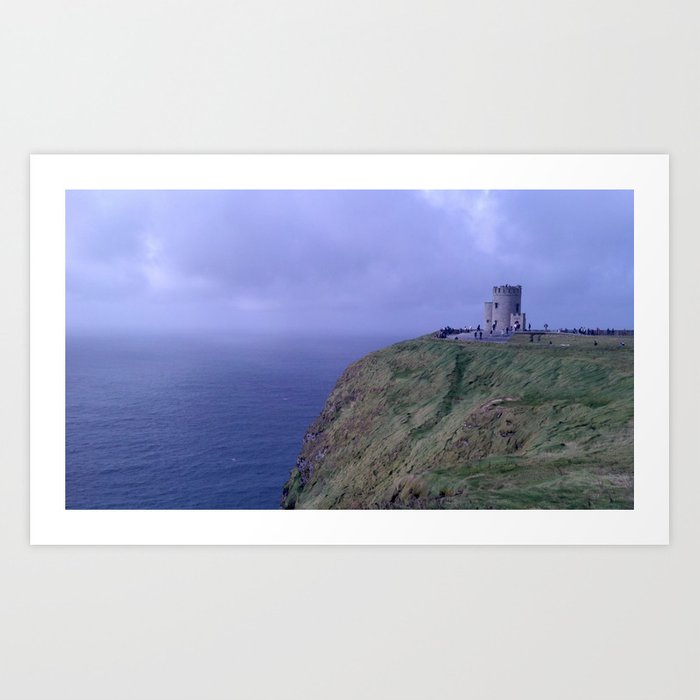 Fortress by the Sea Art Print