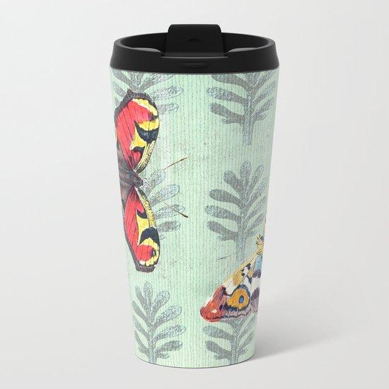 Summer's sojourn with butterflies Metal Travel Mug
