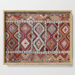 Gaziantep  Antique Turkish Rug Print Serving Tray
