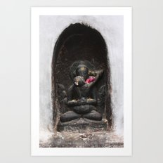 Bodhinath Shrine - 1 of 6 Art Print