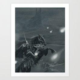 Winter Knights Art Print