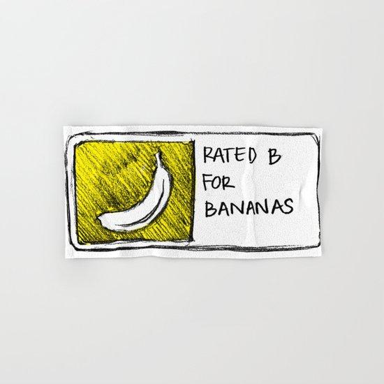 B for Bananas Hand & Bath Towel