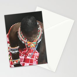African Potrait I Stationery Cards