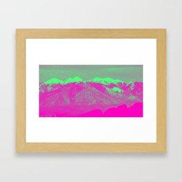 Mountain I Framed Art Print
