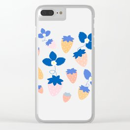 SWEET STRAWBERRIES Clear iPhone Case