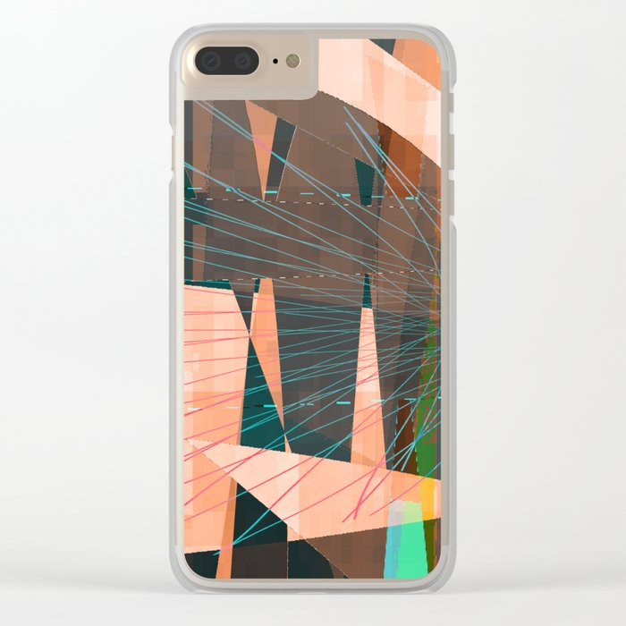 mojo Clear iPhone Case