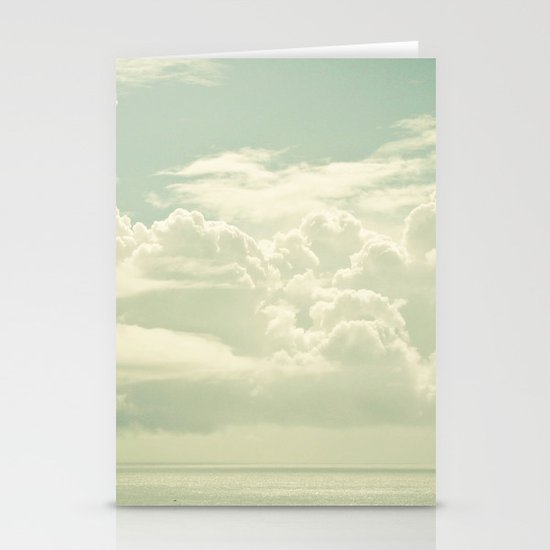 As the Clouds Gathered Stationery Cards