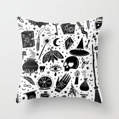 I'm a Crazy Witch Throw Pillow