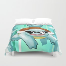 Squirtle Squad Duvet Cover