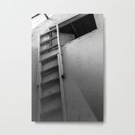Ladder to the loft Metal Print