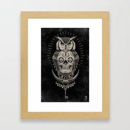 BLK OWL Framed Art Print
