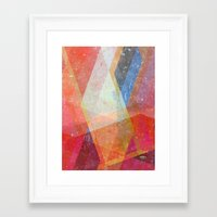 prism Framed Art Prints featuring Prism by Zeke Tucker