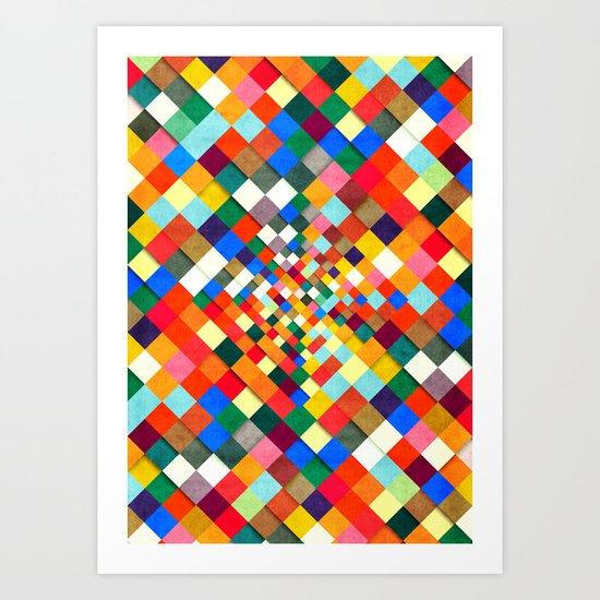 Colorful Nite Art Print