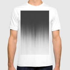 OCCULT MEDIUM White Mens Fitted Tee