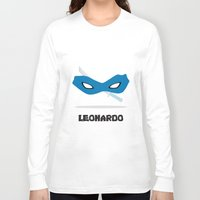 leonardo dicaprio Long Sleeve T-shirts featuring Leonardo by DSCDESIGNS