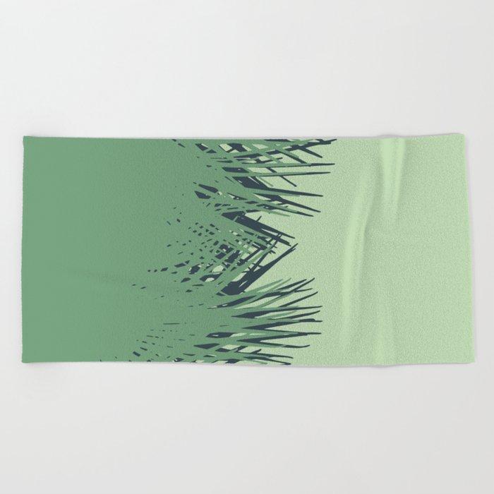 Cuban Palm Beach Towel