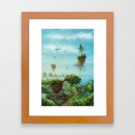 Gravity I: Overcome Framed Art Print
