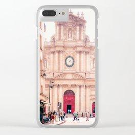 Saint-Paul Saint-Louis Church - Le Marais, Paris Clear iPhone Case