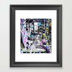 again, part II Framed Art Print