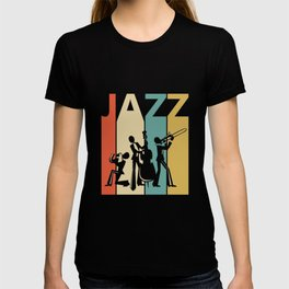 Vintage Jazz Music Lover Gift Idea  T-shirt