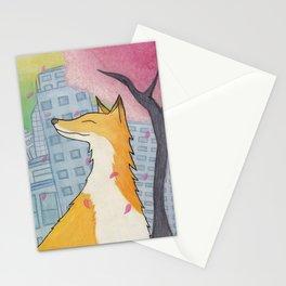 Urban Fox Stationery Cards