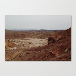 Red Desert Canvas Print