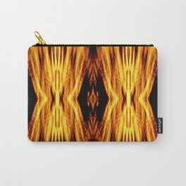 Flame Pattern Fire Astract Carry-All Pouch
