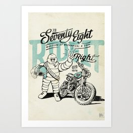 Ride It Art Print
