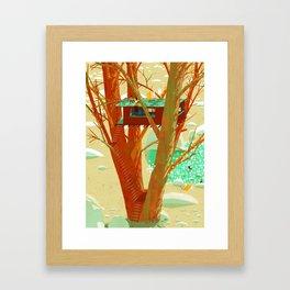 Other Life Framed Art Print