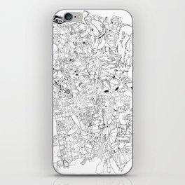 Fragments of memory iPhone Skin