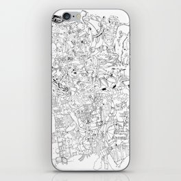 Fragments of memory iPhone Skin
