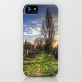 Kensal Green Cemetery London iPhone Case