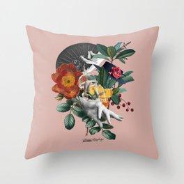 Fiesta de la Primavera Throw Pillow
