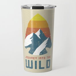 Journey Into the Wild Travel Mug
