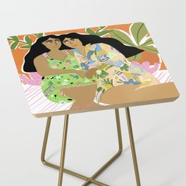 Sisters of the jungle Side Table