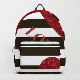 Love you Valentines day Backpack