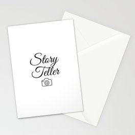 Gift for Photographer, Story Teller quotes Stationery Cards