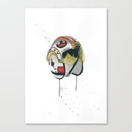 Empty Mask - Rebel Pilot Canvas Print