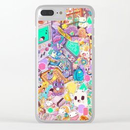 The Game Over Sisters Clear iPhone Case