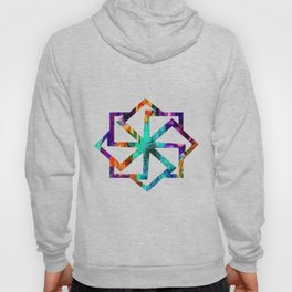 Colored Daisies Hoody