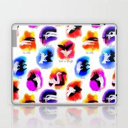 Watercolor Shadow Puppets Laptop & iPad Skin