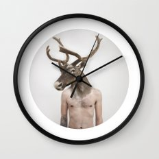 Therianthrope - Caribou Wall Clock